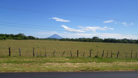 Typical Nicaraguan scenery