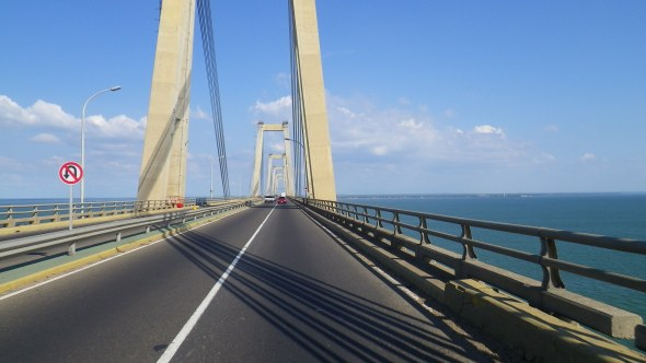 The General Rafael Urdaneta Bridge. 5.3 miles from shore to shore.