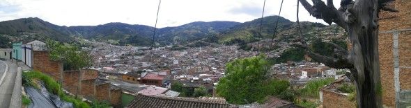 Pamplona along the way