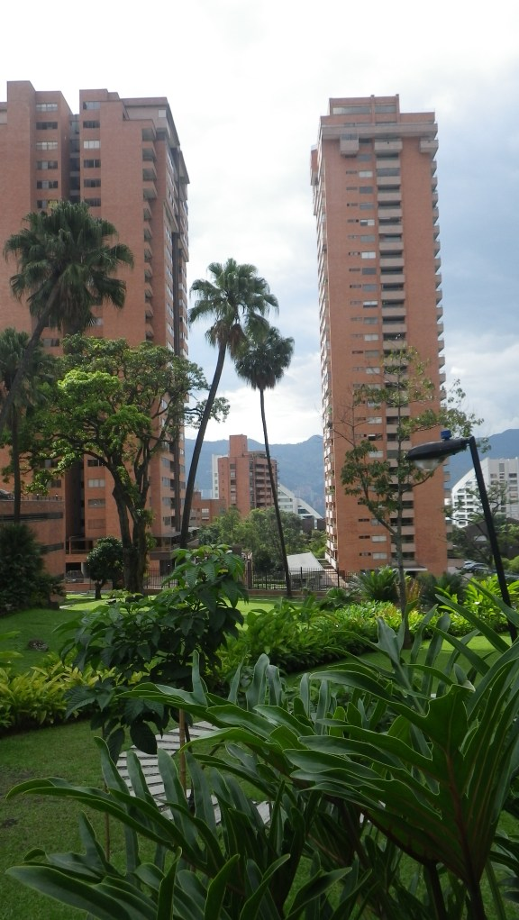 Walking about Medellin