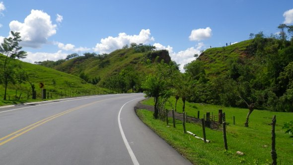 Southern Colombia scenery