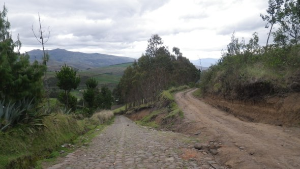 Some back roads near Cayambe, Ecuador