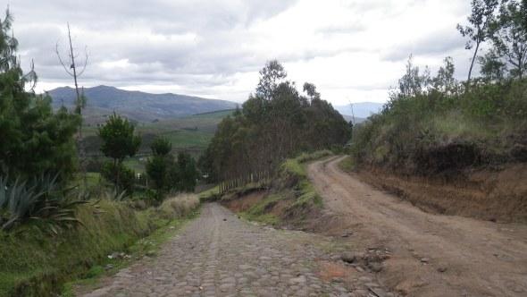 Some back roads near Cayambe, Ecuador