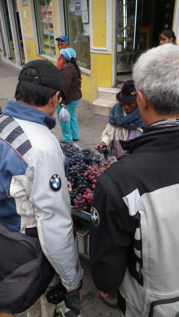 Franki & Tony negotiating grape prices