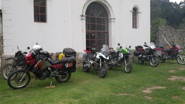 The motley crew at the Hacienda