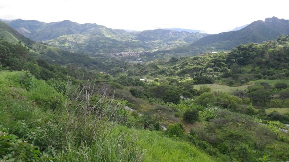 Dropping into Vilcabamba