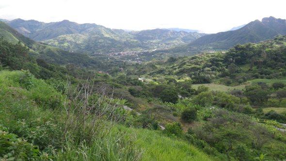 Dropping into Vilcabamba