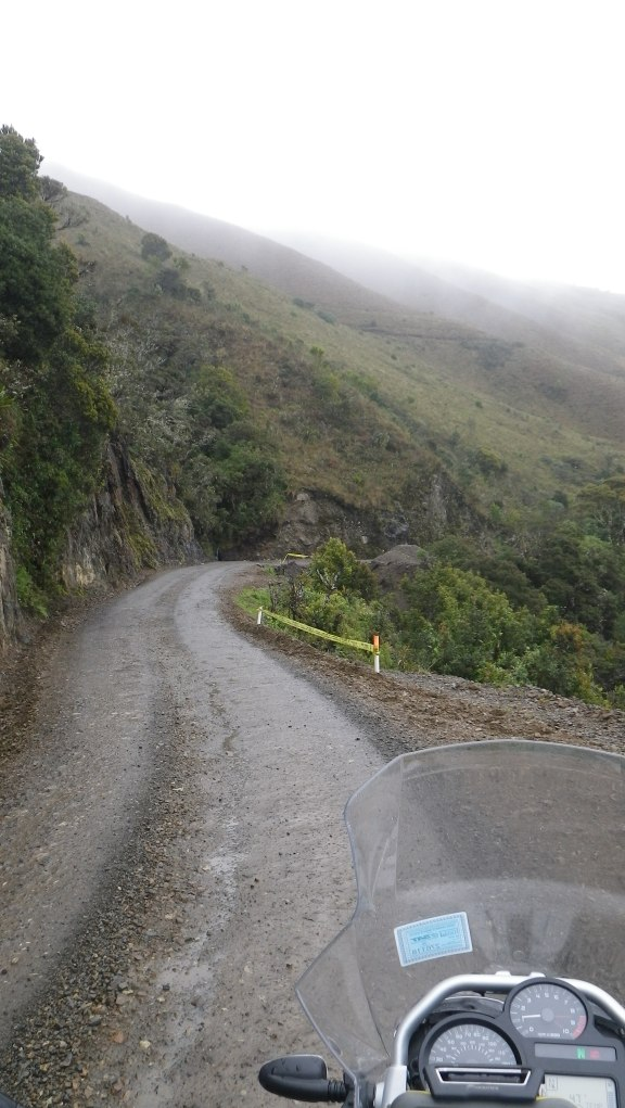 Back into the clouds towards Cajamarca