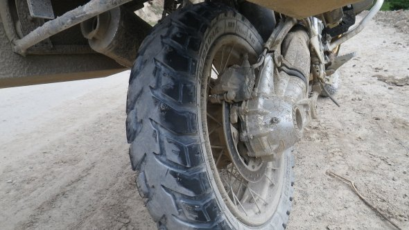 GS Mudguard: 0 / Peruvian roads: 1