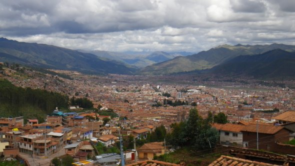 Dropping into Cusco