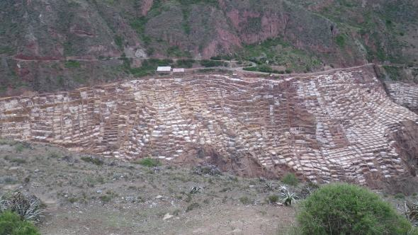 Salt ponds near Maras, Peru