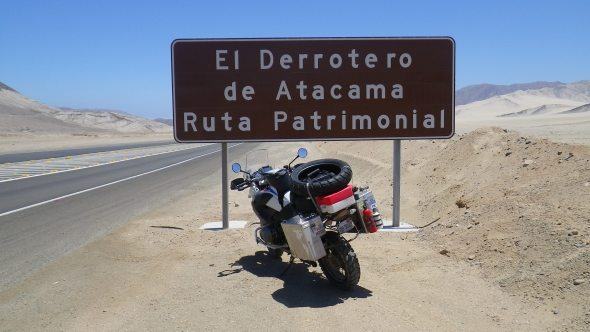 """The course of Atacama heritage route"""