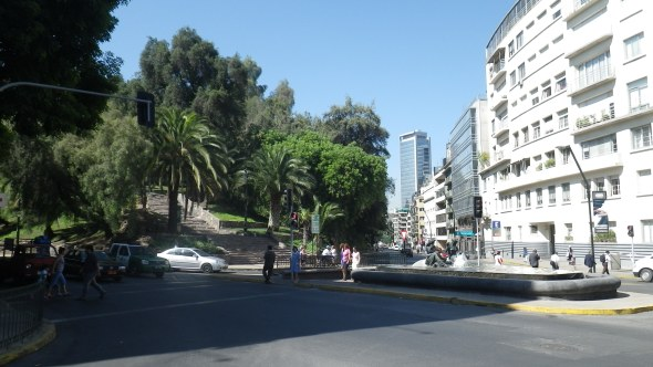 Downtown Santiago, Chile