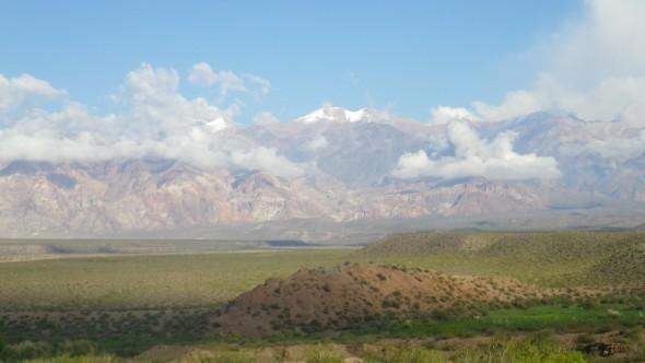 En-route to Mendoza