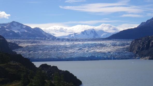 First sight of Glacier Grey