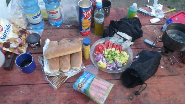 Hot dogs in Patagonia