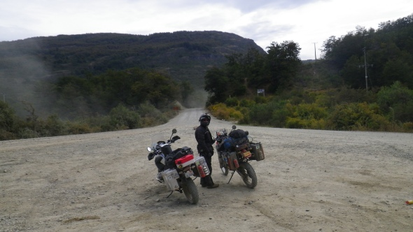 At the beginning of the Carrerara Austral
